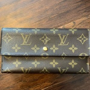 Louis Vuitton monogram Porte Tresor wallet